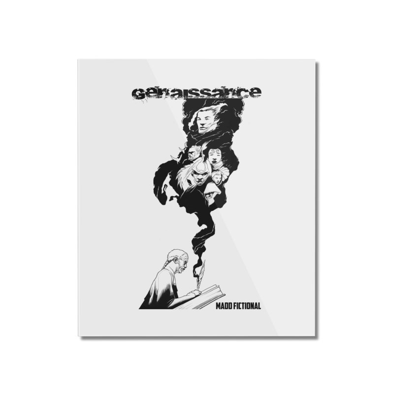 Genaissance - Enoch the Scribe Home Mounted Acrylic Print by MaddFictional's Artist Shop