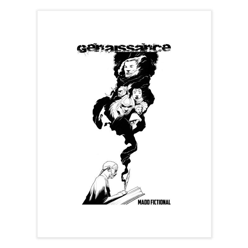 Genaissance - Enoch the Scribe Home Fine Art Print by MaddFictional's Artist Shop