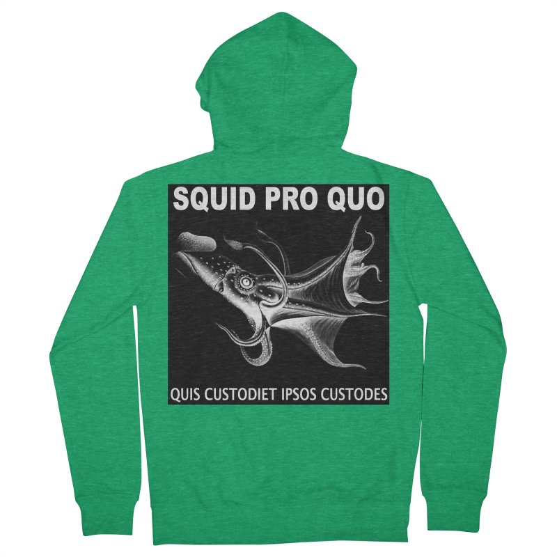 Squid Pro Quo Men's Zip-Up Hoody by MaddFictional's Artist Shop
