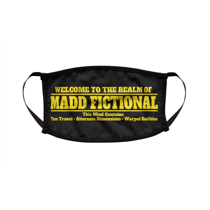 Madd Fictional Accessories Face Mask by MaddFictional's Artist Shop