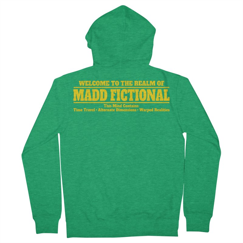 Madd Fictional Men's Zip-Up Hoody by MaddFictional's Artist Shop
