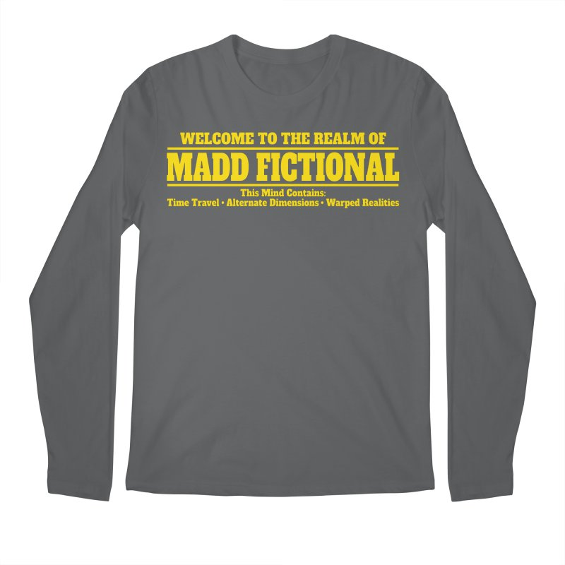 Madd Fictional Men's Longsleeve T-Shirt by MaddFictional's Artist Shop