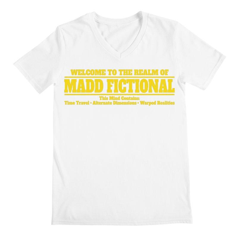Madd Fictional Men's V-Neck by MaddFictional's Artist Shop