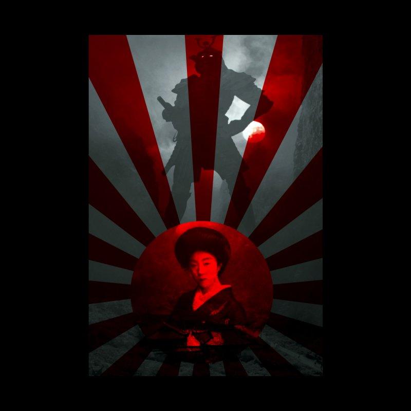 The Geisha and The Samurai Home Duvet by MaddFictional's Artist Shop