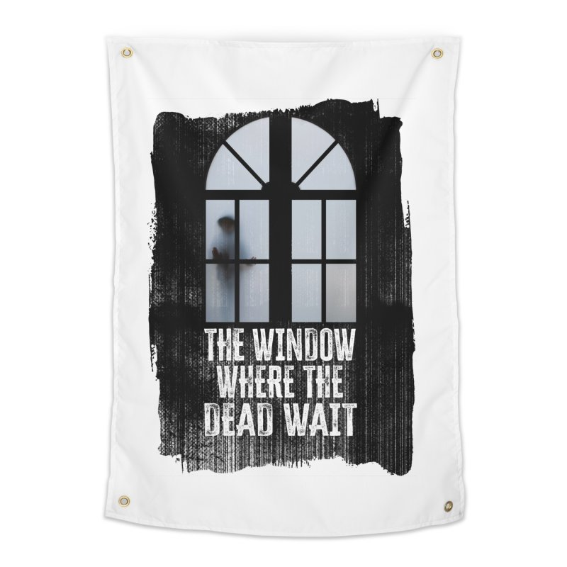 The Window Where The Dead Wait Home Tapestry by MaddFictional's Artist Shop