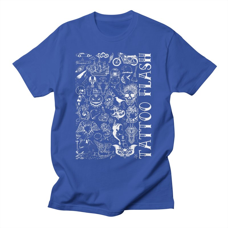 Tattoo Flash Men's T-Shirt by MaddFictional's Artist Shop