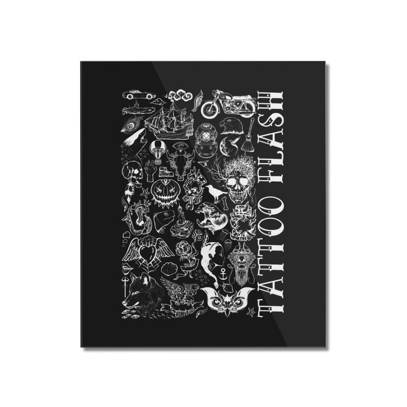 Tattoo Flash Home Mounted Acrylic Print by MaddFictional's Artist Shop