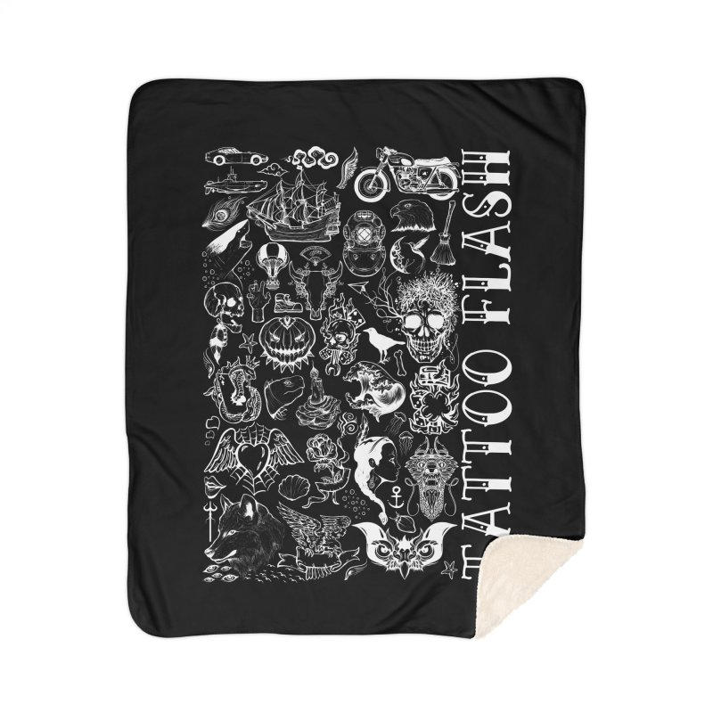 Tattoo Flash Home Blanket by MaddFictional's Artist Shop