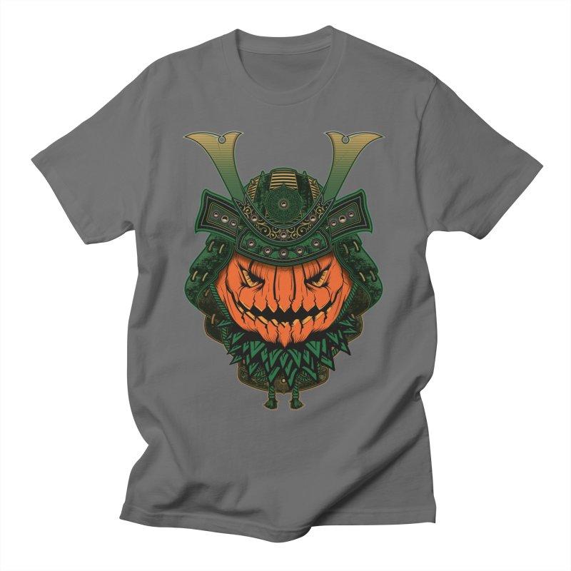 Jack O Lantern Samurai Men's T-Shirt by MaddFictional's Artist Shop
