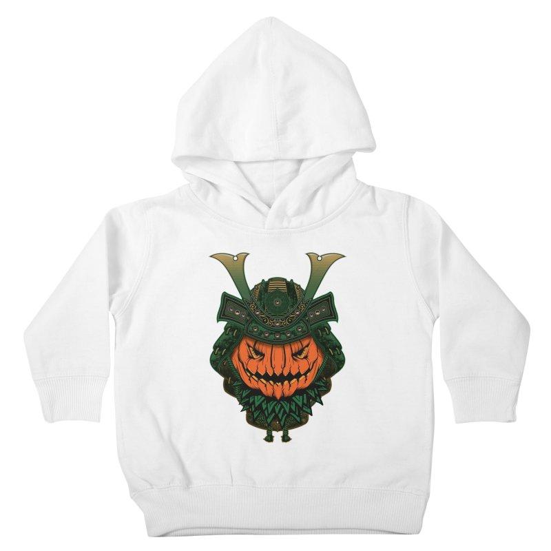 Jack O Lantern Samurai Kids Toddler Pullover Hoody by MaddFictional's Artist Shop