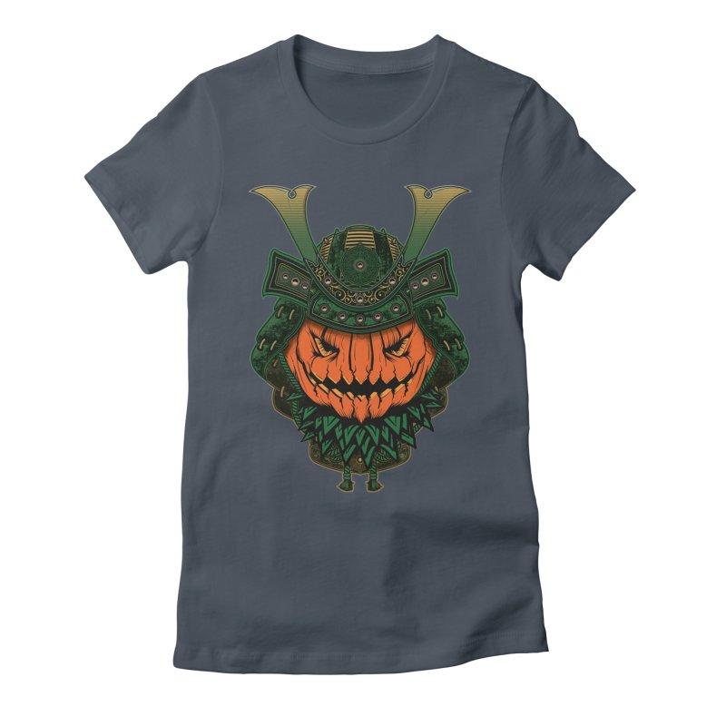 Jack O Lantern Samurai Women's T-Shirt by MaddFictional's Artist Shop