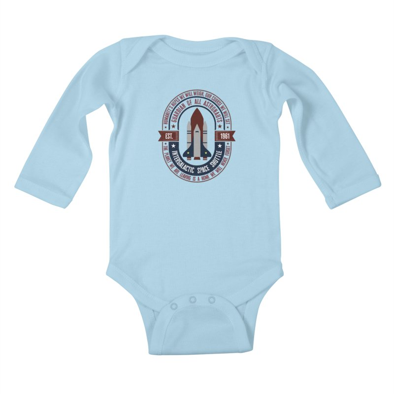 Guardian of All Astronauts Kids Baby Longsleeve Bodysuit by MaddFictional's Artist Shop