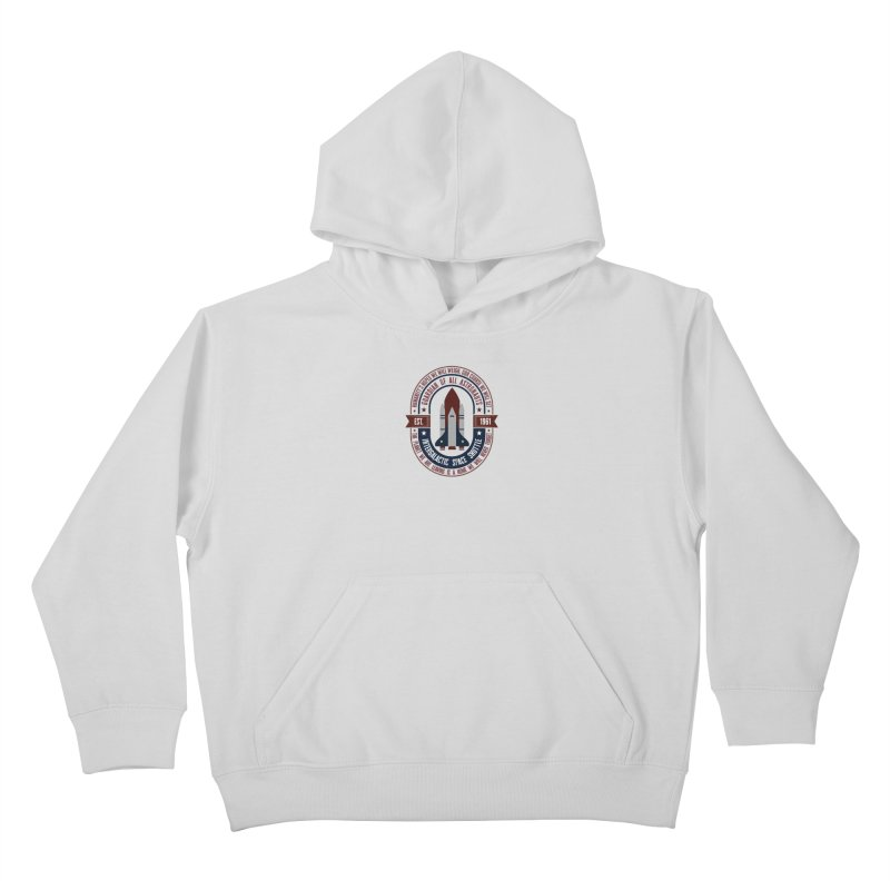 Guardian of All Astronauts Kids Pullover Hoody by MaddFictional's Artist Shop