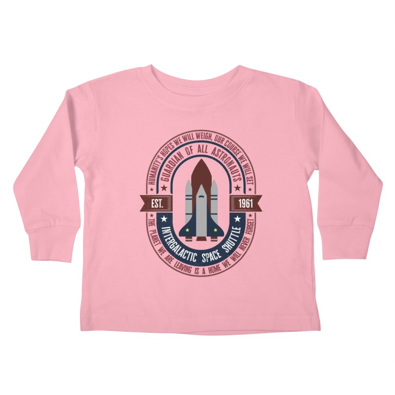 Guardian of All Astronauts Kids Toddler Longsleeve T-Shirt by MaddFictional's Artist Shop