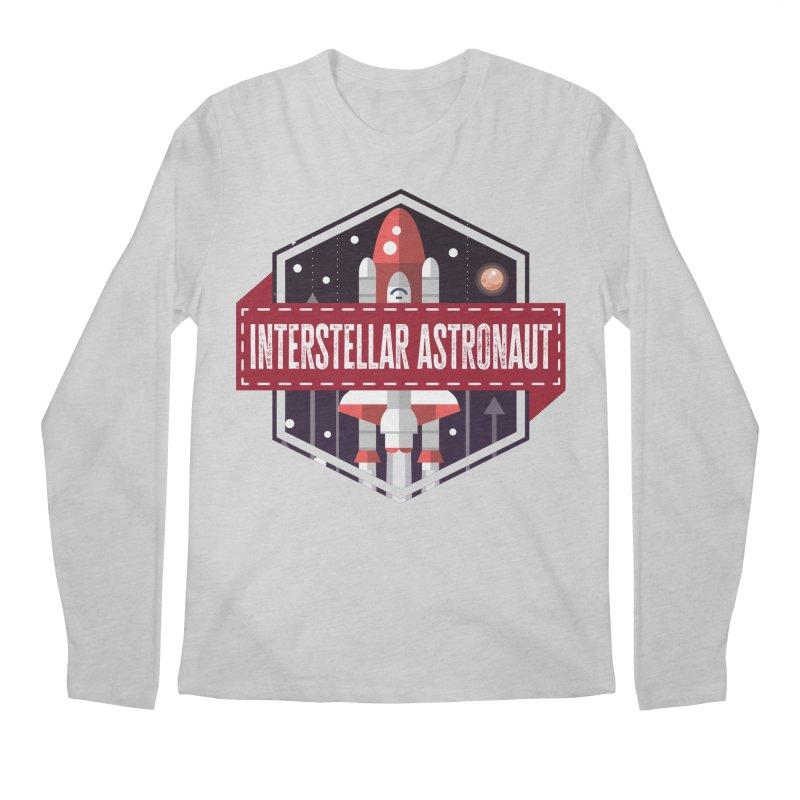Interstellar Astronaut Men's Longsleeve T-Shirt by MaddFictional's Artist Shop