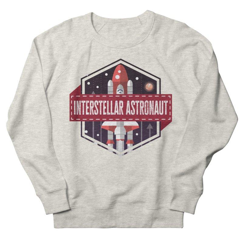 Interstellar Astronaut Men's Sweatshirt by MaddFictional's Artist Shop