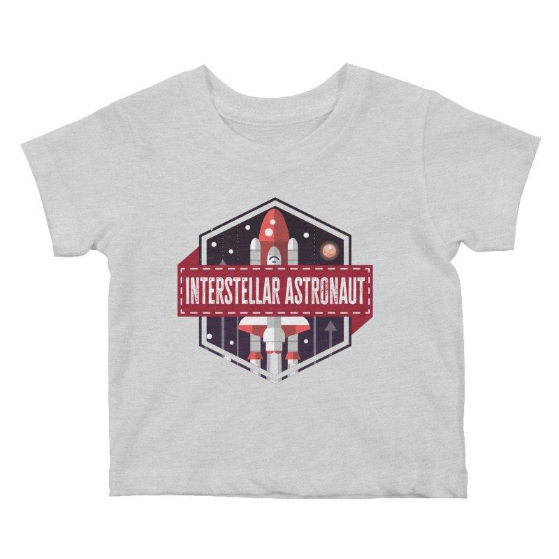 Interstellar Astronaut Kids Baby T-Shirt by MaddFictional's Artist Shop