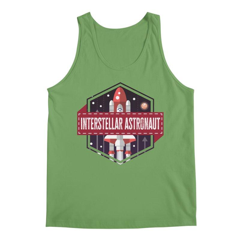 Interstellar Astronaut Men's Tank by MaddFictional's Artist Shop