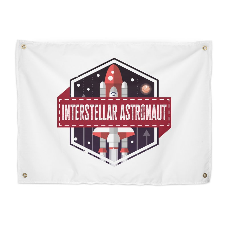 Interstellar Astronaut Home Tapestry by MaddFictional's Artist Shop