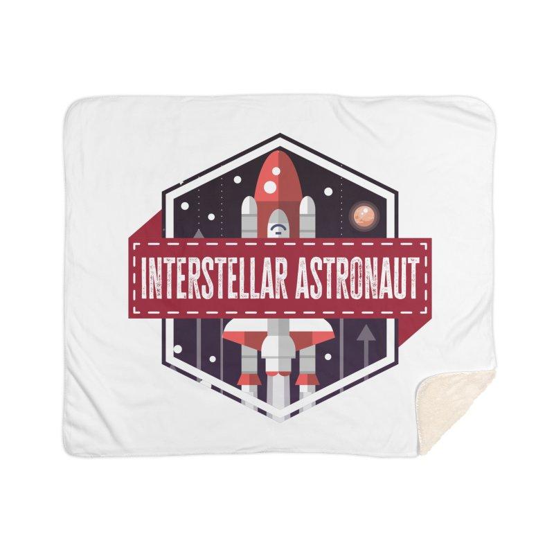 Interstellar Astronaut Home Blanket by MaddFictional's Artist Shop