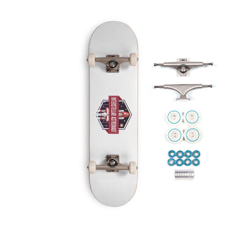 Interstellar Astronaut Accessories Skateboard by MaddFictional's Artist Shop
