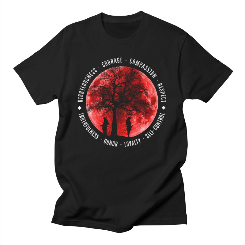 Under The Bushido Tree Men's T-Shirt by MaddFictional's Artist Shop