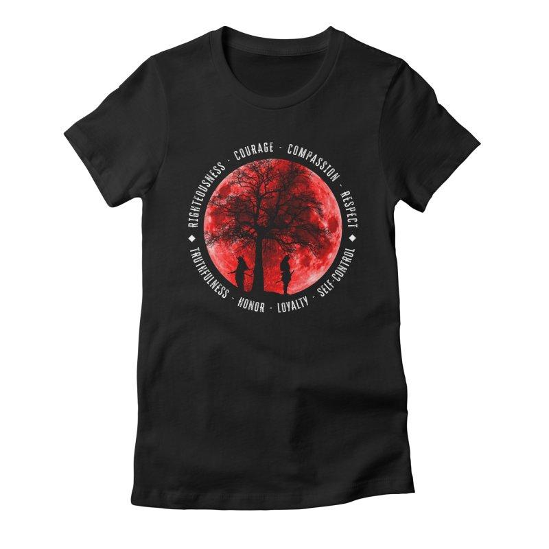 Under The Bushido Tree Women's T-Shirt by MaddFictional's Artist Shop