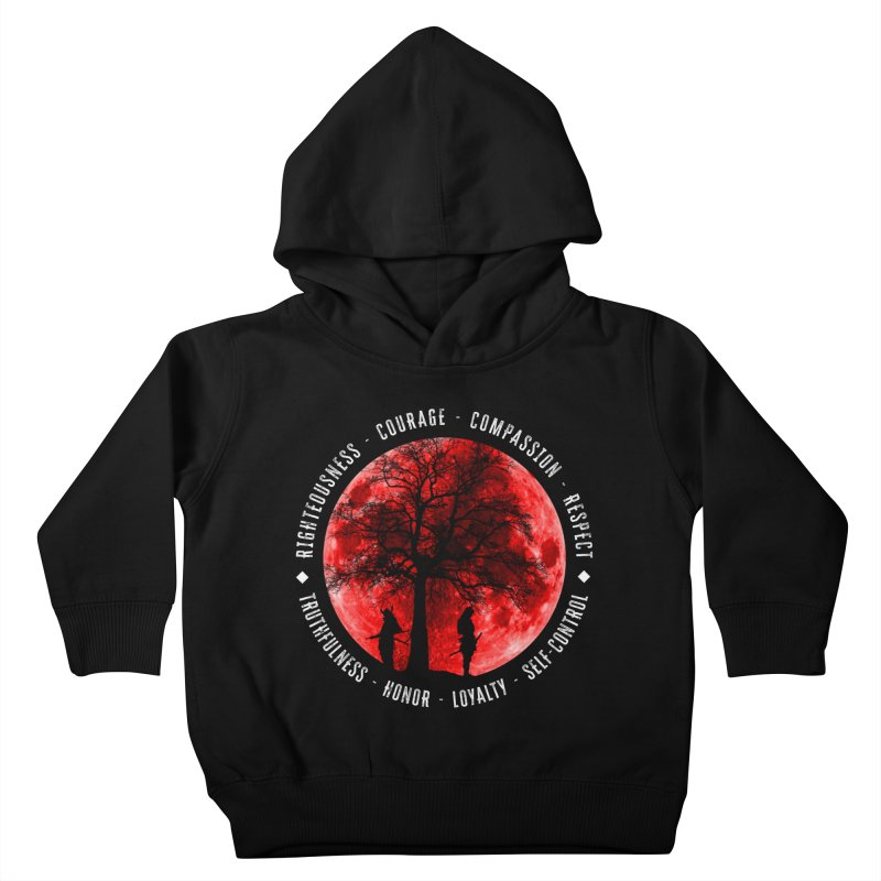 Under The Bushido Tree Kids Toddler Pullover Hoody by MaddFictional's Artist Shop