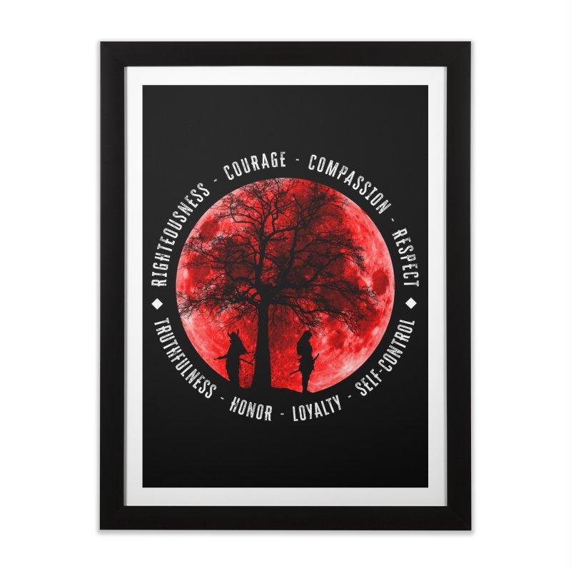 Under The Bushido Tree Home Framed Fine Art Print by MaddFictional's Artist Shop