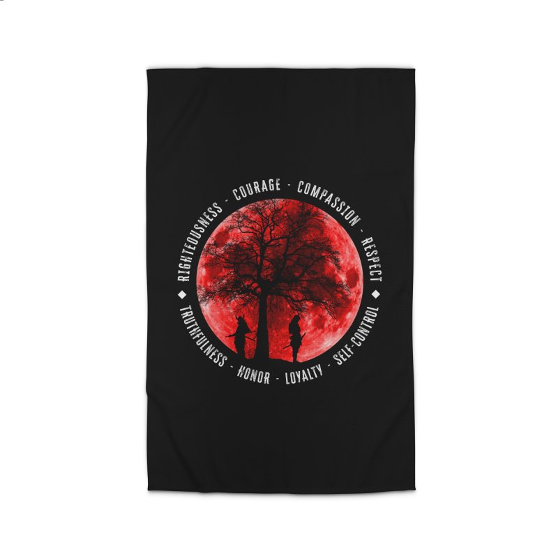 Under The Bushido Tree Home Rug by MaddFictional's Artist Shop
