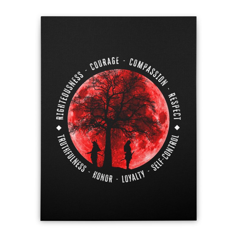 Under The Bushido Tree Home Stretched Canvas by MaddFictional's Artist Shop