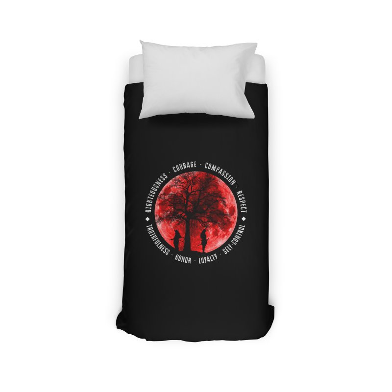 Under The Bushido Tree Home Duvet by MaddFictional's Artist Shop