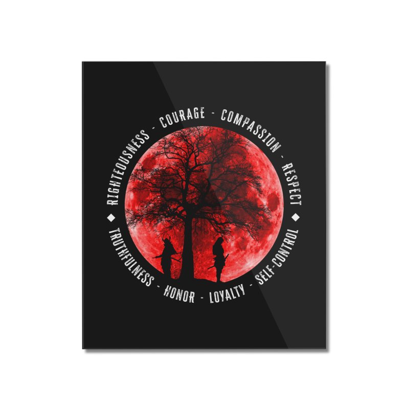 Under The Bushido Tree Home Mounted Acrylic Print by MaddFictional's Artist Shop