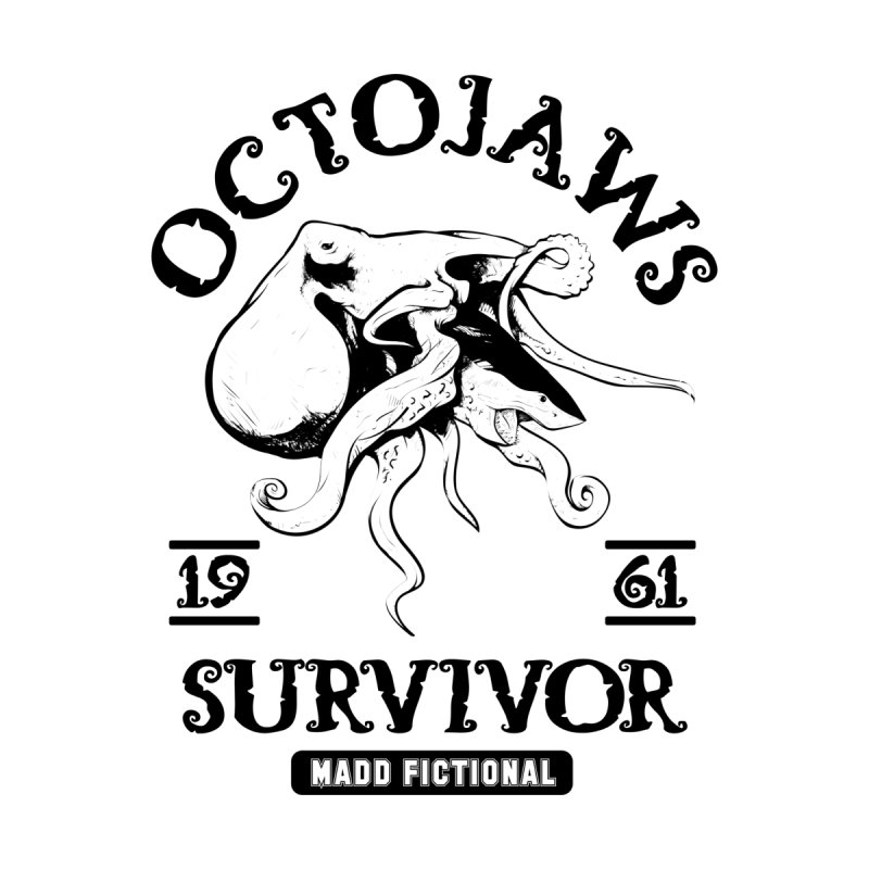 OctoJaws Survivor Kids Pullover Hoody by MaddFictional's Artist Shop