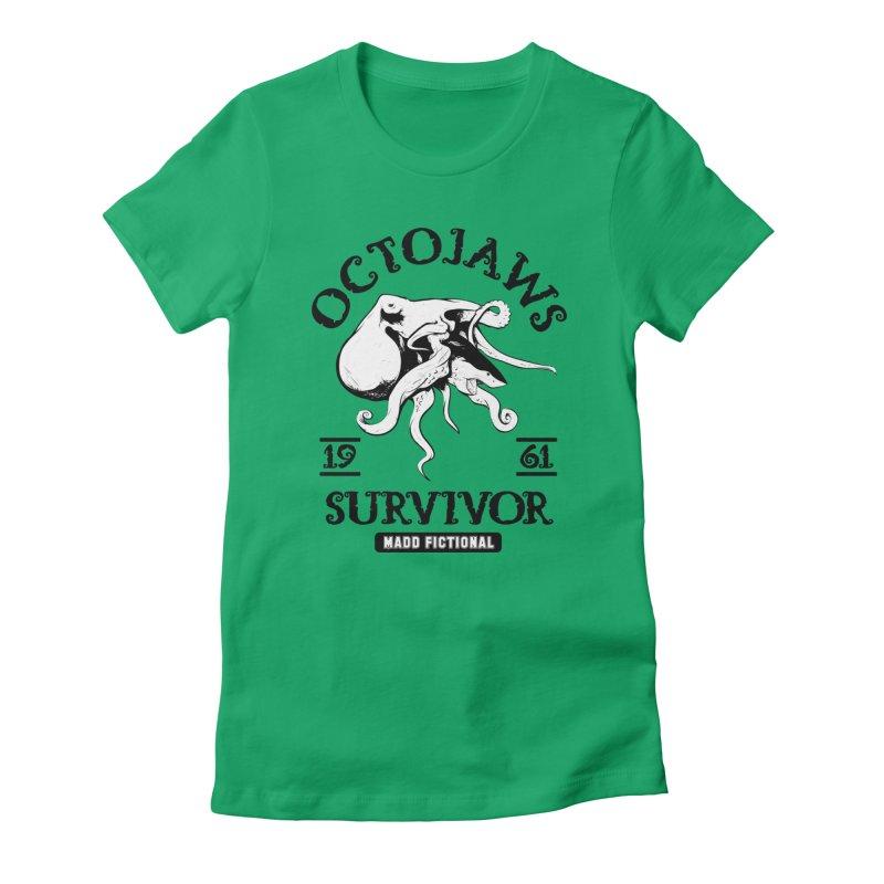 OctoJaws Survivor Women's T-Shirt by MaddFictional's Artist Shop