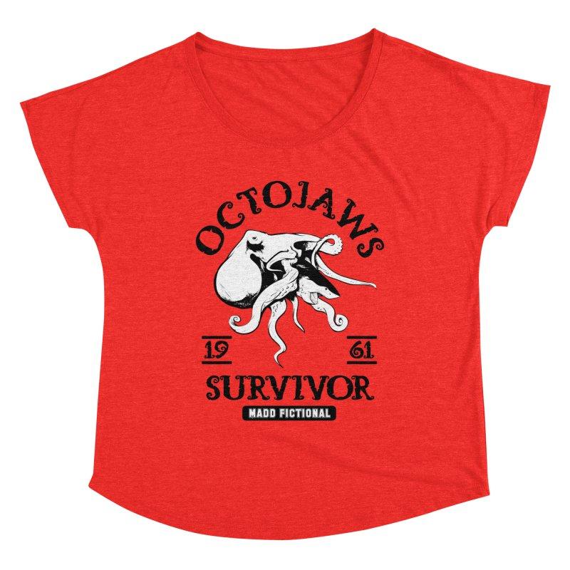 OctoJaws Survivor Women's Scoop Neck by MaddFictional's Artist Shop