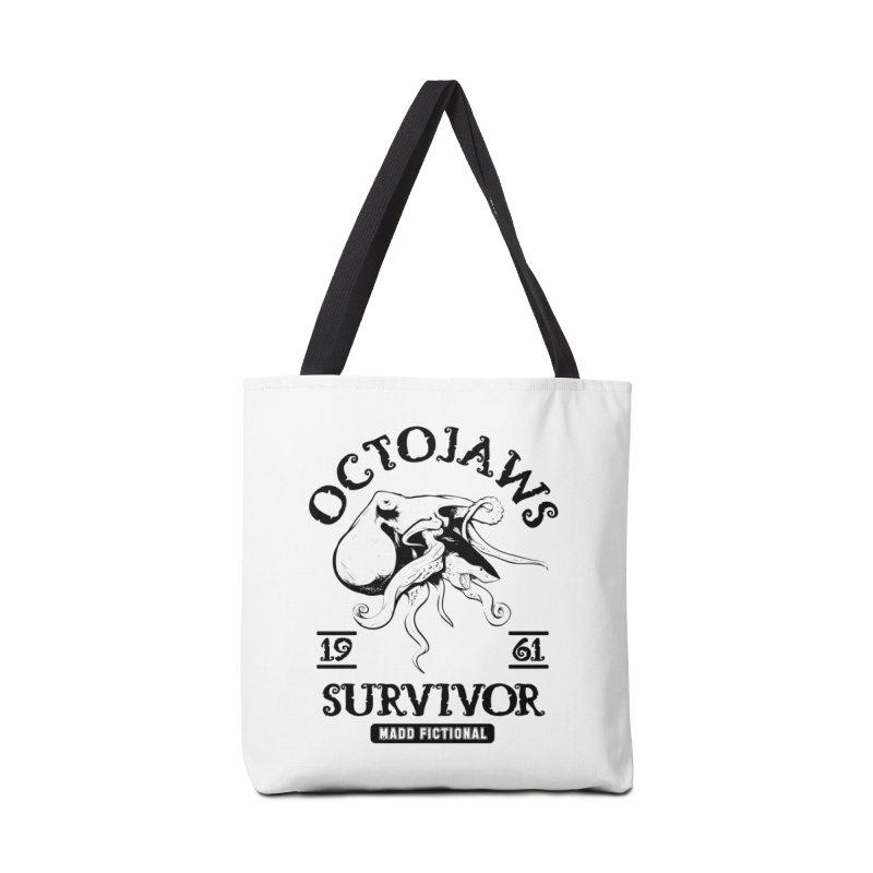 OctoJaws Survivor Accessories Bag by MaddFictional's Artist Shop