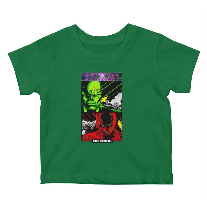 Nixa/Klute Kids Baby T-Shirt by MaddFictional's Artist Shop