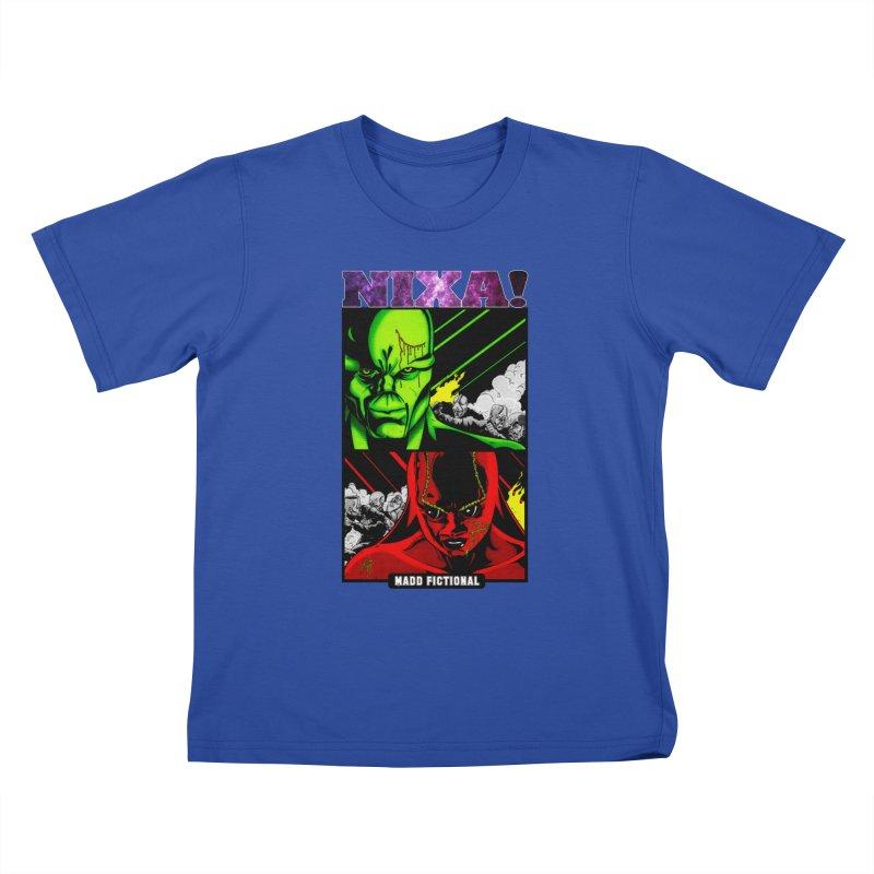 Nixa/Klute Kids T-Shirt by MaddFictional's Artist Shop