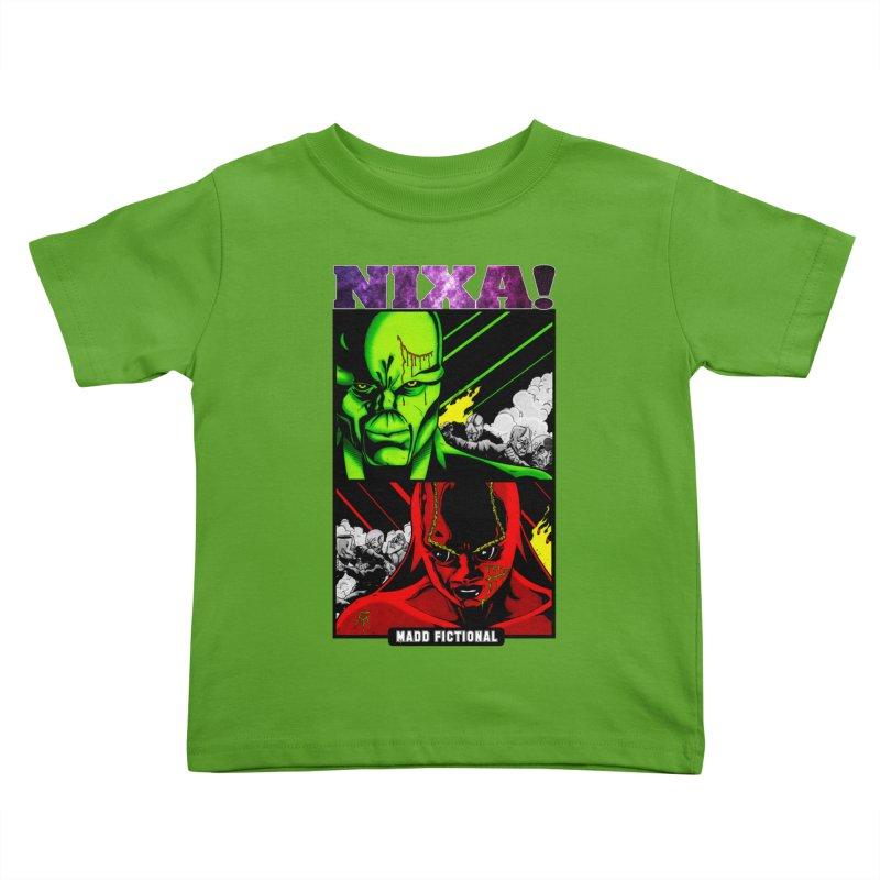 Nixa/Klute Kids Toddler T-Shirt by MaddFictional's Artist Shop