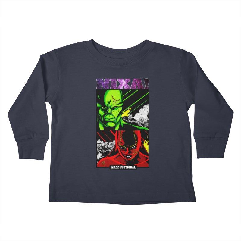 Nixa/Klute Kids Toddler Longsleeve T-Shirt by MaddFictional's Artist Shop