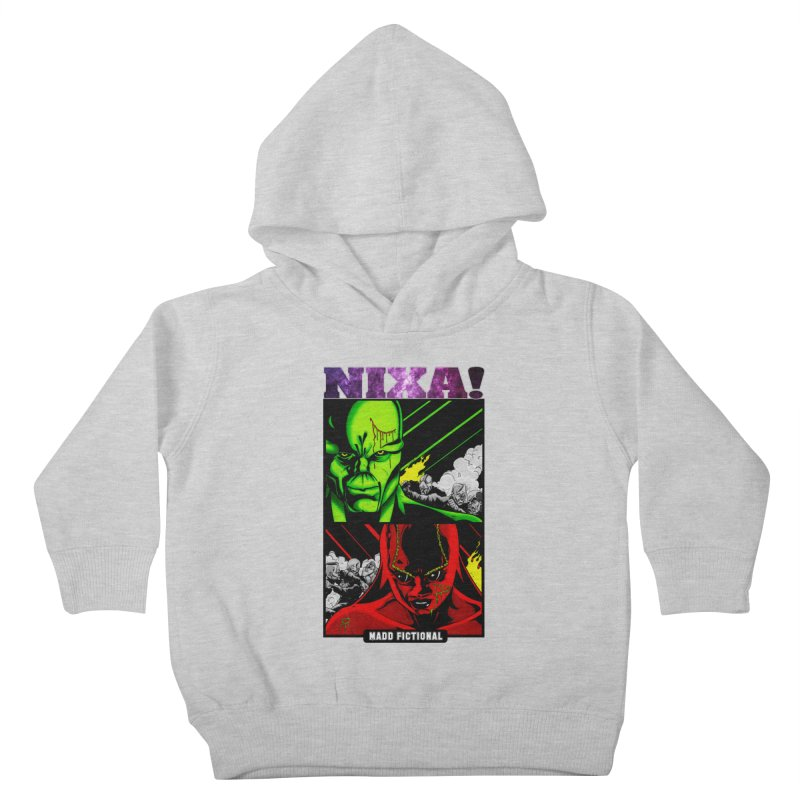 Nixa/Klute Kids Toddler Pullover Hoody by MaddFictional's Artist Shop