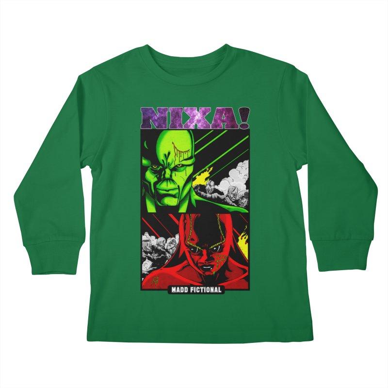 Nixa/Klute Kids Longsleeve T-Shirt by MaddFictional's Artist Shop