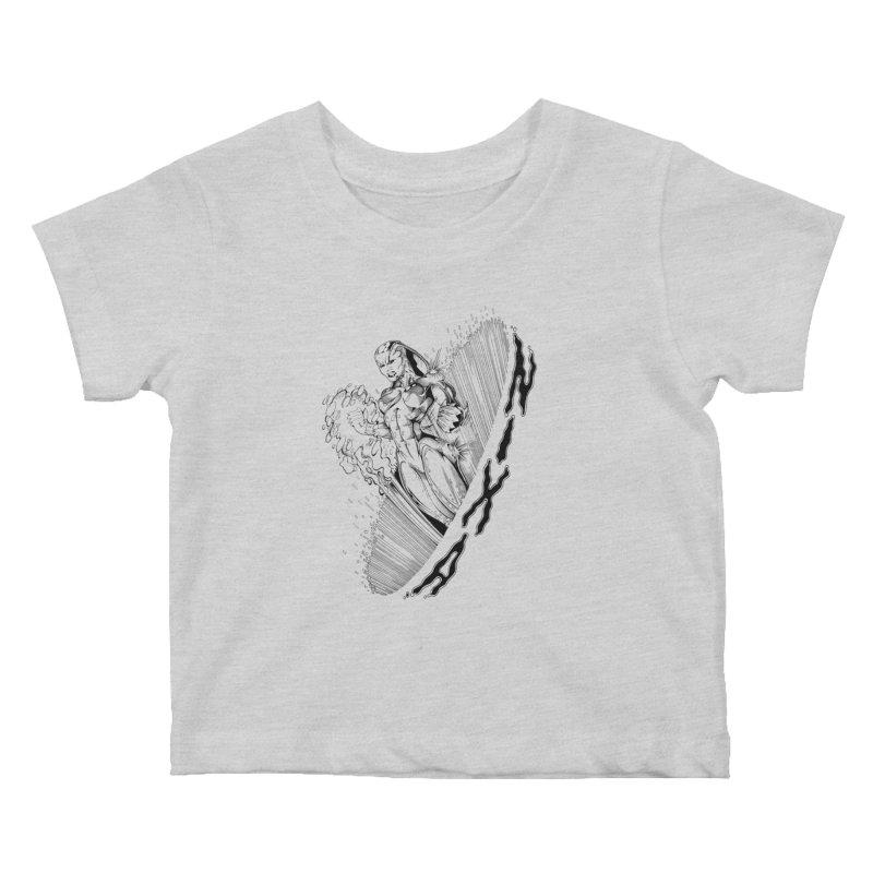 Nixa Wormhole Kids Baby T-Shirt by MaddFictional's Artist Shop