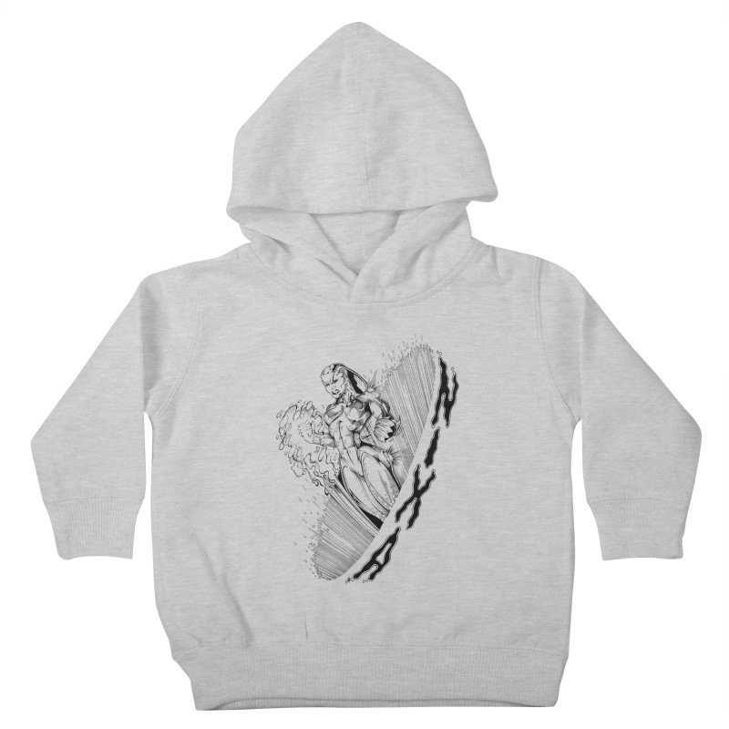 Nixa Wormhole Kids Toddler Pullover Hoody by MaddFictional's Artist Shop