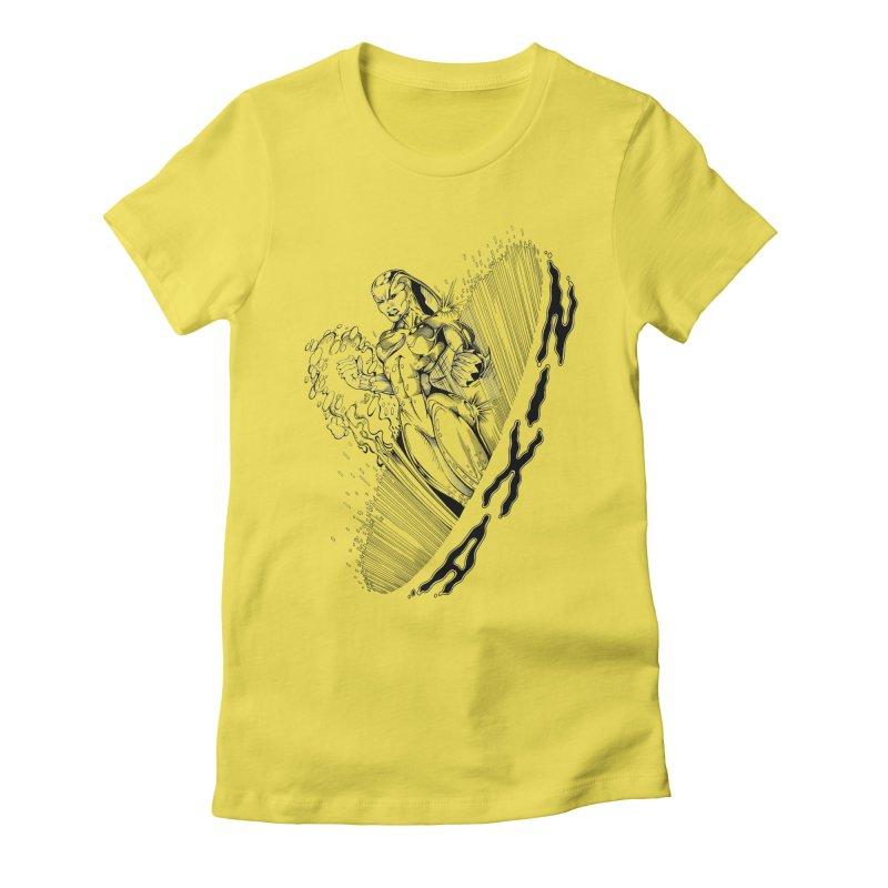 Nixa Wormhole Women's T-Shirt by MaddFictional's Artist Shop