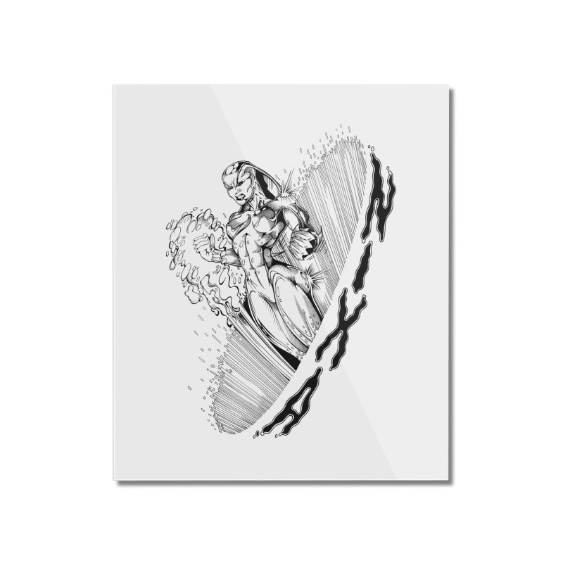 Nixa Wormhole Home Mounted Acrylic Print by MaddFictional's Artist Shop