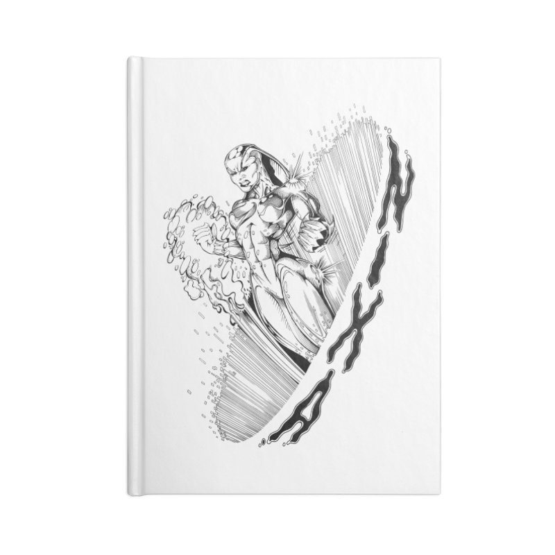 Nixa Wormhole Accessories Notebook by MaddFictional's Artist Shop
