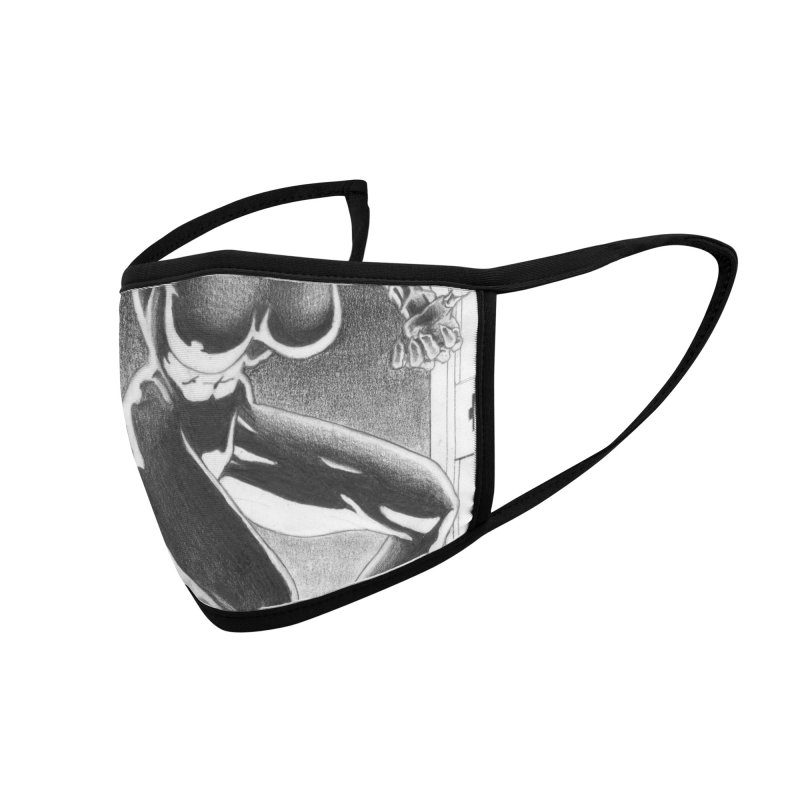 Nixa Airlock Accessories Face Mask by MaddFictional's Artist Shop