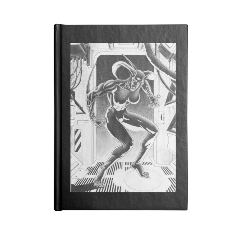 Nixa Airlock Accessories Notebook by MaddFictional's Artist Shop